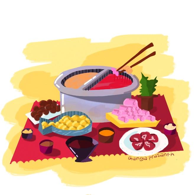 A Hot Pot Thanksgiving