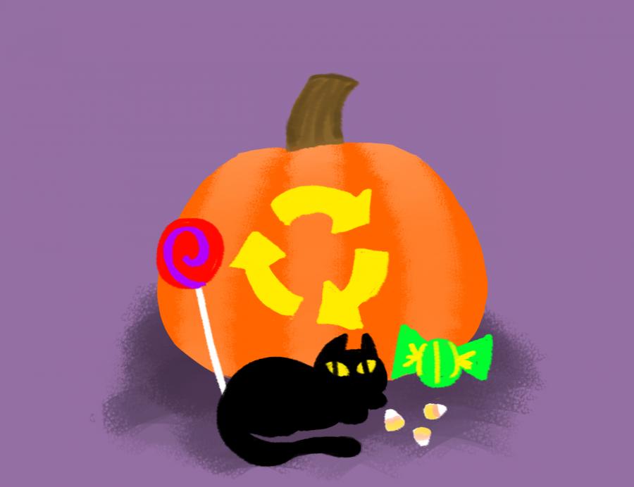 (Kate De Prima)- Eco-Friendly Halloween