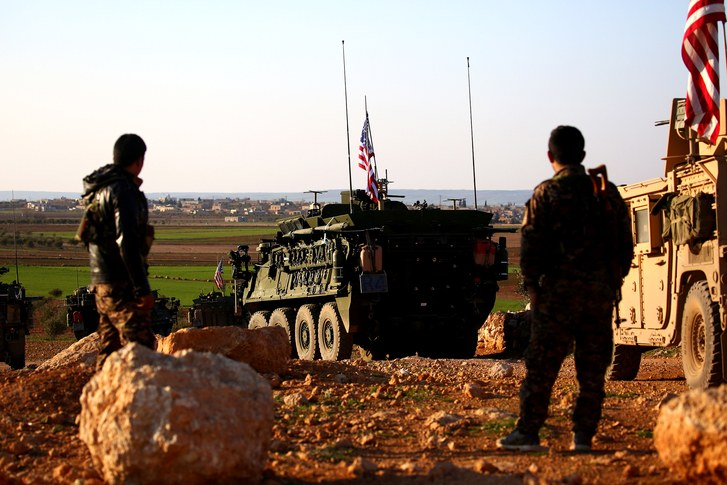 Turkish Forces Advance on Syria as U.S. Troops Withdraw
