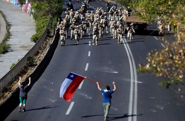 Riots Erupt in Chile