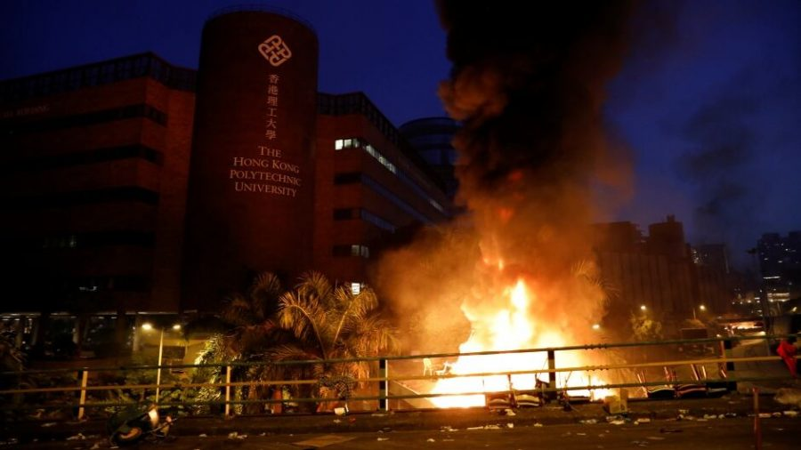 Over 1,000 Protesters Arrested at Hong Kong Polytechnic University