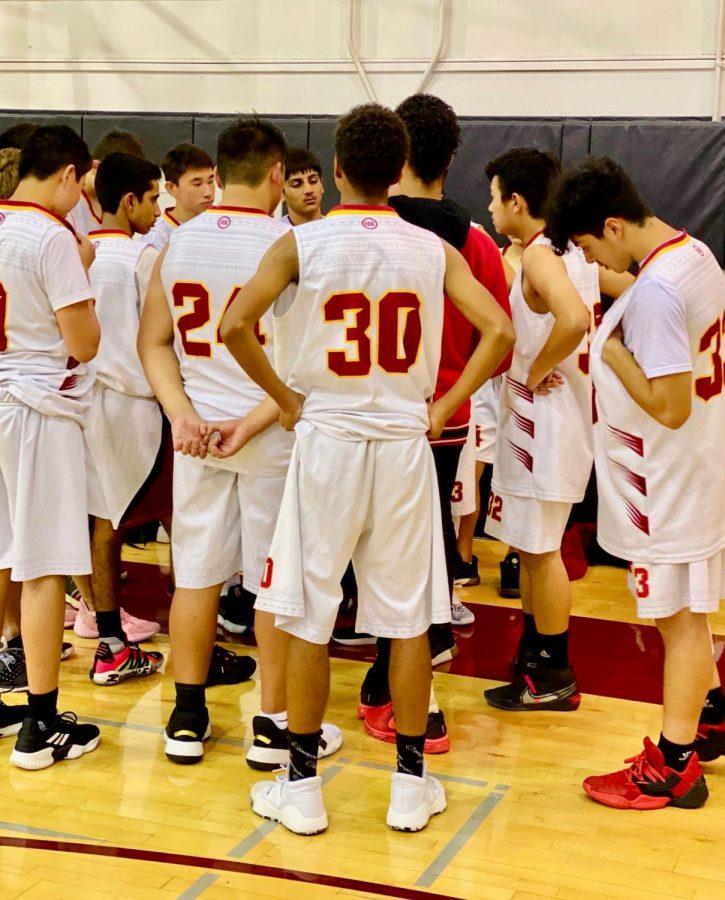 Boys Frosh/Soph Basketball v. Hoover