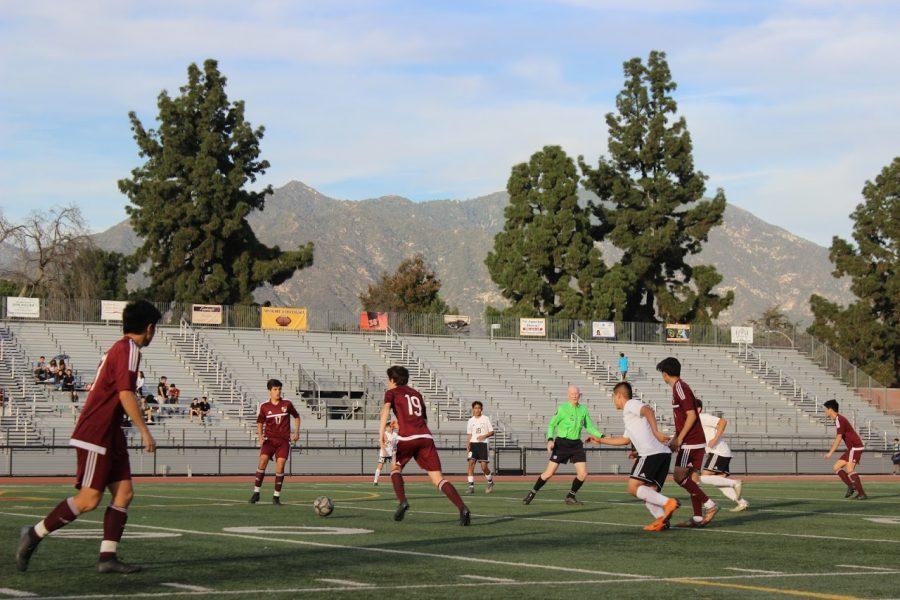 Boys Varsity Soccer v. Burroughs