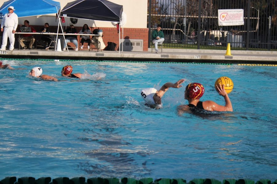Brief: Girls Varsity Water Polo Jan. 9