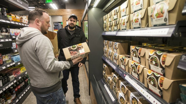 Amazon Approaching a New Grocery Concept