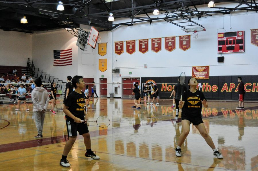 3/9 Varsity Badminton v. Walnut