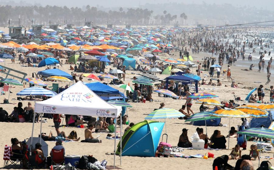 California Heat Wave Breaks Records Over Labor Day Weekend
