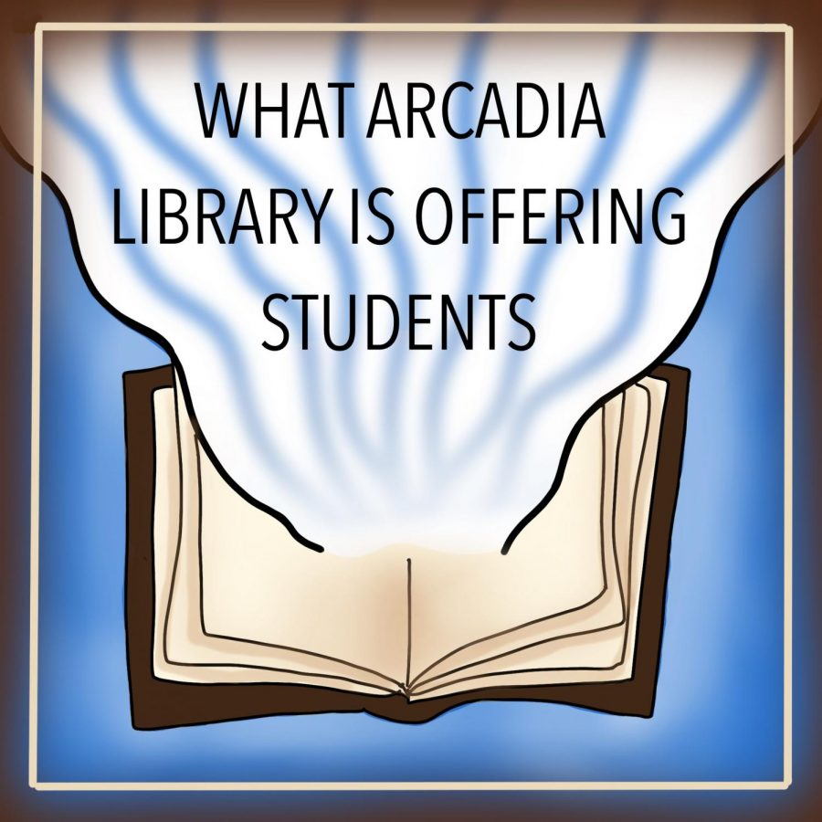 Avari Wang- What Arcadia Library is Offering Students