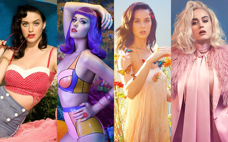 The Evolution of Katy Perry