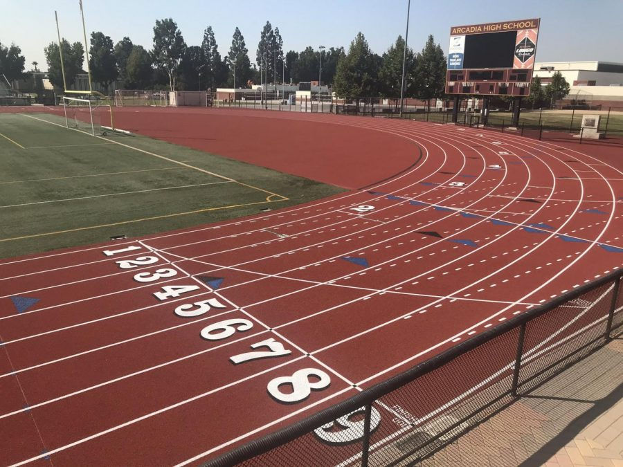 Newly Renovated Track at AHS