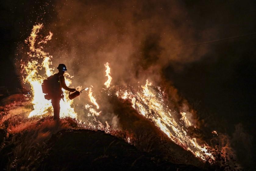 Students vs Bobcat Fire