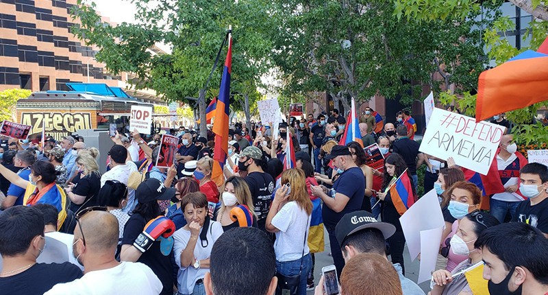 Protests Against Azerbaijan Aggression