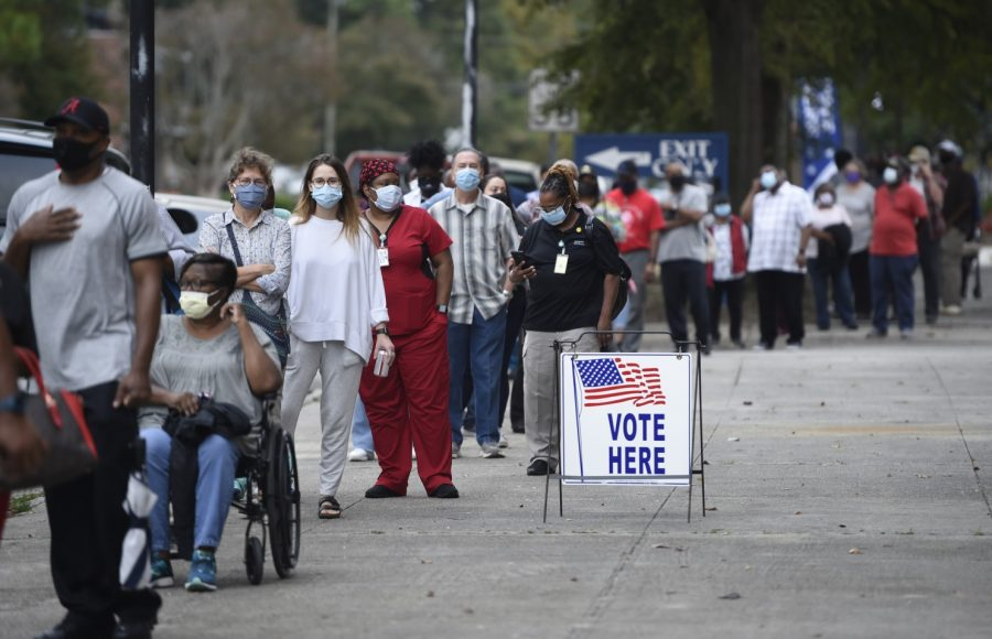 Early Voting Turnout Breaks Records