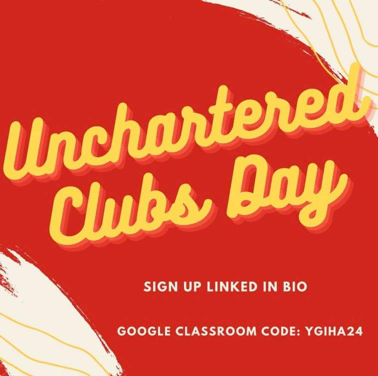 AHS Students for Club Reform's Unchartered Virtual Club Day