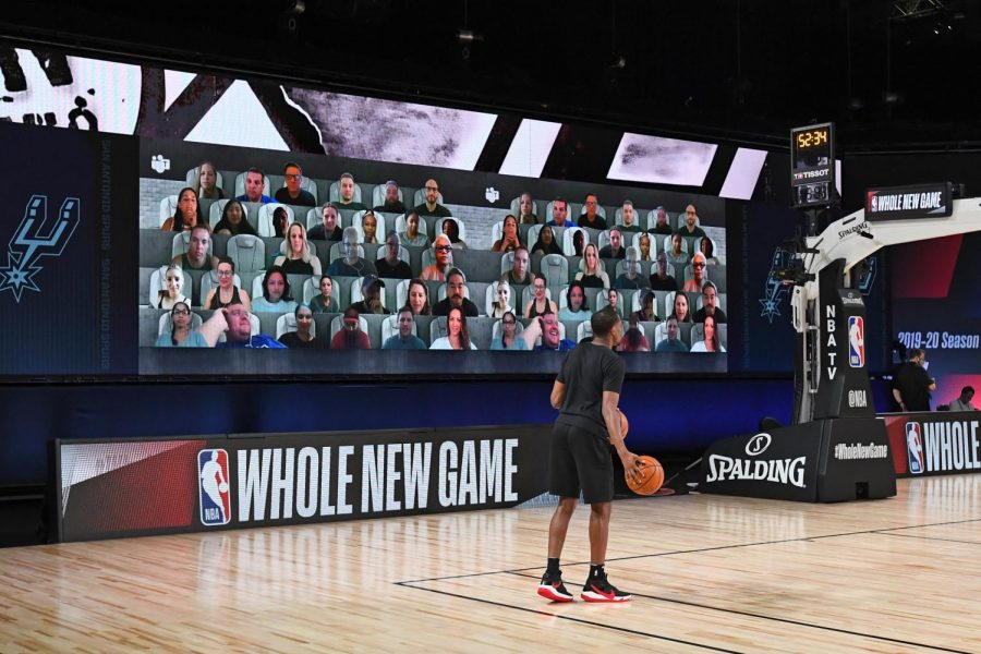 A Virtual Crowd Welcomes The NBA Finals