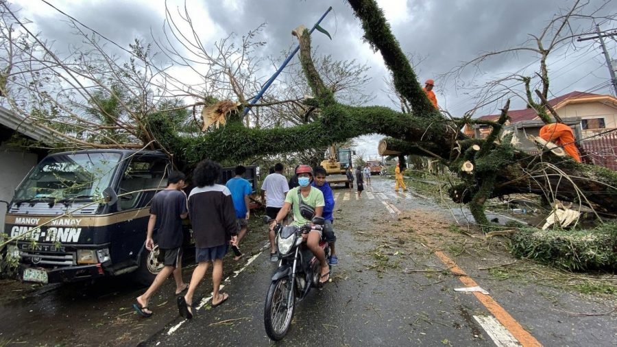 Philippines Hit Hard by Typhoon Goni