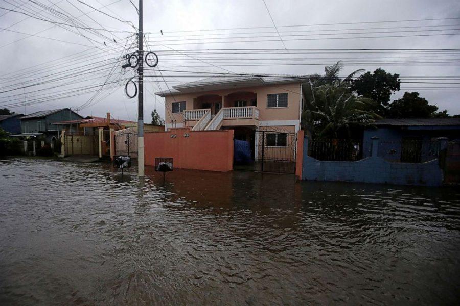 Tropical Storm Eta Causes Damage in Nicaragua