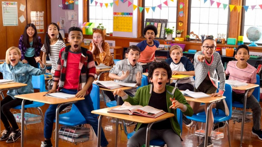 Dana Middle School 6th Graders Appear on Nickelodeon's The Substitute