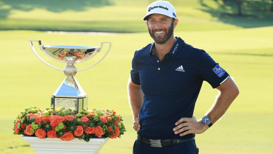 Dustin Johnson Takes First in 2020 Masters for Golf