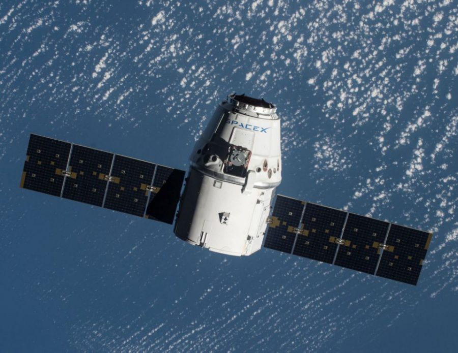 SpaceX Launches New Dragon Cargo Ship