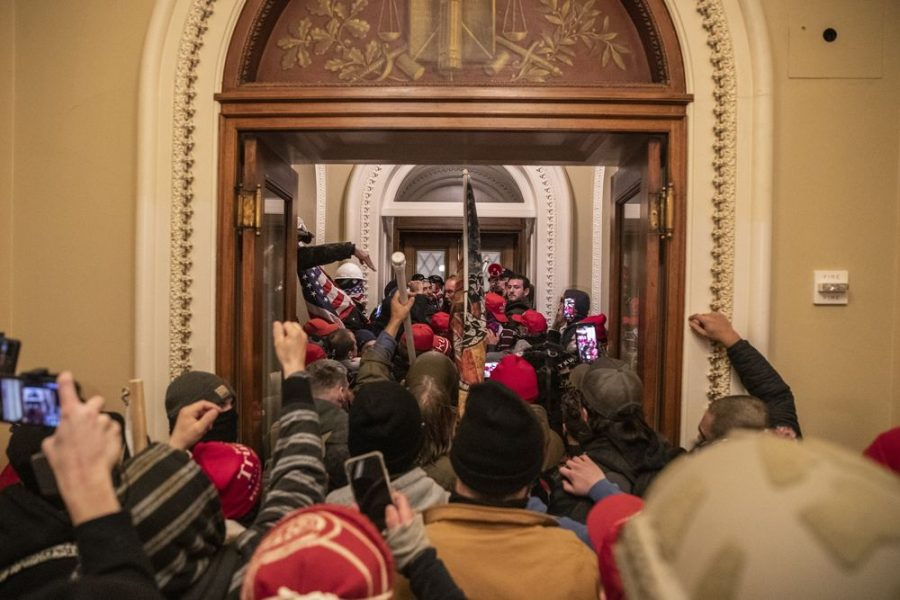 Pro-Trump Mob Storms Capitol Hill
