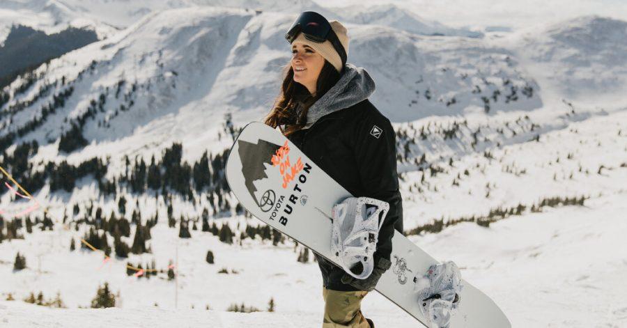 Para Snowboarder Speeds to Success