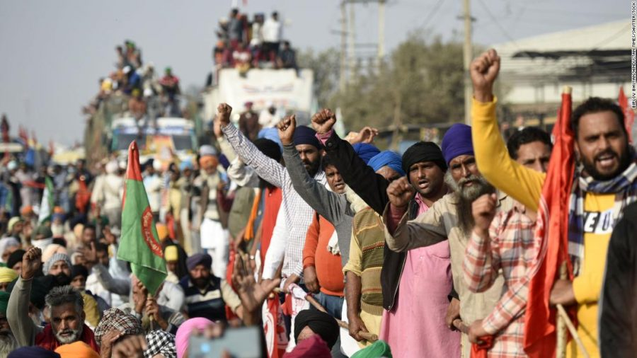 Indias Farmer Protests Point to a Divided Nation