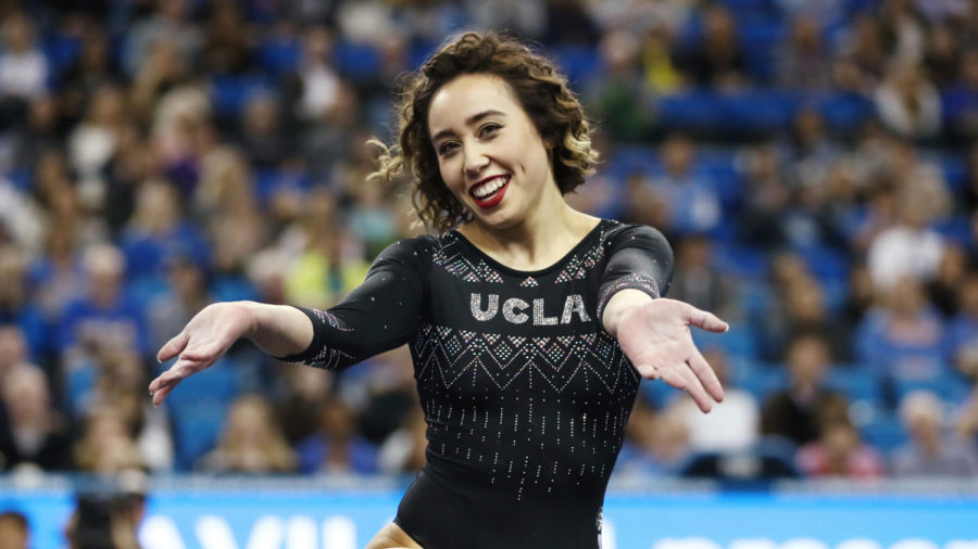 UCLA's Viral Gymnastics