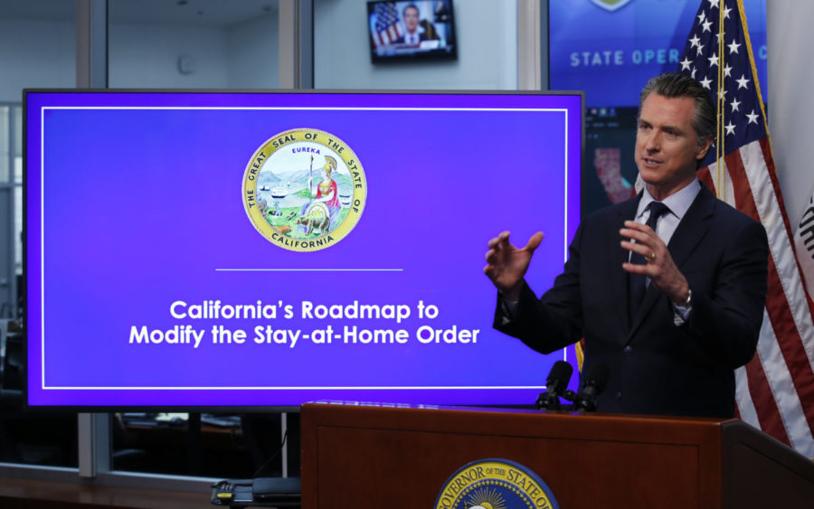 Governor Newsom Pushes to Reopen Schools