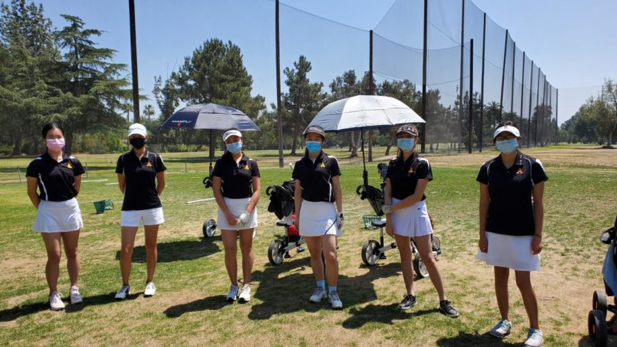 Girls Golf Off To A Great Season