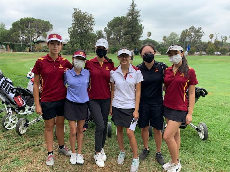 Brief: Girls Golf Sept. 1